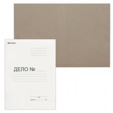 """Папка-обложка """"Дело"""", картон немелованный, 300г/м2, белый"""