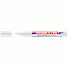 """Маркер-краска белая 2-4 мм для промышленной графики Edding """"8750"""""""