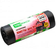 "Мешки для мусора 30л 20шт/рул Mirpack ""Extra"" ПНД, 50*60см, 12мкм"