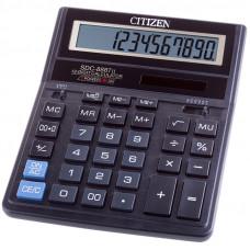 Калькулятор настольный 12 разр., Citizen SDC-888TII  двойное питание, 158*203*31 мм, черный