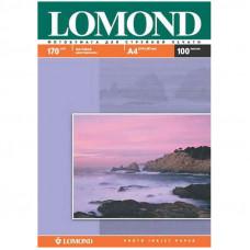 Фотобумага А4 для стр. принтеров LOMOND  170г/м2 (100л) мат.дв.