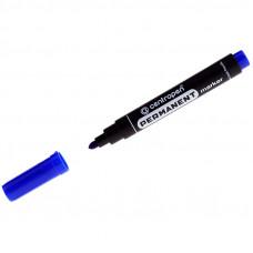 """Маркер 2,5 мм синий перманентный пулевидный CENTROPEN """"8566"""""""