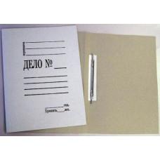 Скоросшиватель Дело 260 г/м2 картон немелованный,  белый КиБ