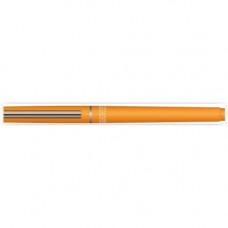 Ручка гелевая синяя 0,5 мм,  Eurasia оранжевый корпус, с метал. наконечником,