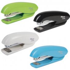 """Степлер №24/6 до 20 л. KW-trio """"Dolphin Half-strip"""" ассорти (черный, голубой, зеленый, белый)"""