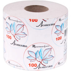 Туалетная бумага Легкость на втулке