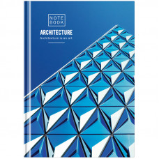 "Блокнот А5 80л. 7БЦ OfficeSpace ""Путешествия. Architecture"", твердая обложка"