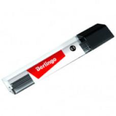 Грифели 0,5 мм HB 12шт., Berlingo, для механических карандашей