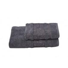 Полотенце махровое 70*140 Бодринг/Огурцы пл.430гр/кв.м 05-068 серый