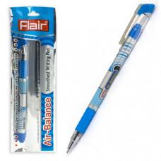 Ручка шар. синяя 0,7 мм. Flair Air-Balance, пластик, металлический клип