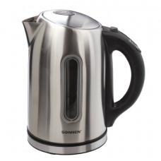 Чайник SONNEN KT-1740, 1,7 л, 2200 Вт, закрытый нагревательный элемент, терморегулятор, нержавеющая