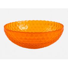 """Тарелка десертн.(салатник) 18см """"Роса"""" проз.крш.оранж."""