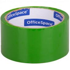Клейкая лента цв. зеленая 48 мм х 40 м 45 мкм OfficeSpace