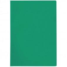 Папка-уголок A4 100мкм,  прозрачная зеленая, OfficeSpace