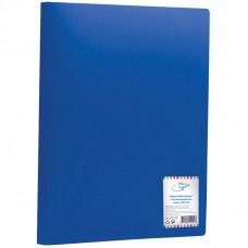 Папка 40 вкладышей синяя 25мм, 400мкм OfficeSpace
