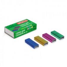 Скобы №10 для степлера  Attache цветные 1000 шт.