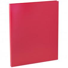Папка с зажимом 15мм 500мкм красная OfficeSpace