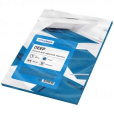 Бумага OfficeSpace deep А4, 80 г/м, 50 л.синяя
