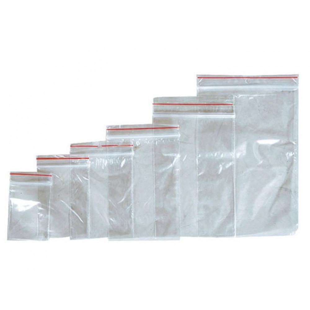 """Пакеты с замком """"зиплок"""" (гриппер) 7см х 10см 100шт/уп"""