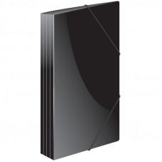 """Папка на резинке  А4, 500мкм, черная Berlingo """"Standard"""""""