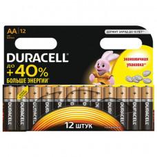 Батарейка LR06 АА DURACELL Basic алкалиновые 12 шт/уп