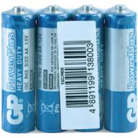 Батарейка GP AA (R06) 15S OS4 4шт/зап.