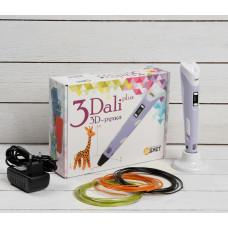 3D ручка 3Dali Plus, ABS и PLA, KIT FB0021B, (+ трафарет и пластик)