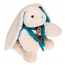 """Мягкая игрушка """"Кролик"""", цвет белый/бирюзовый, 45 см"""