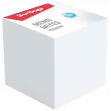 "Блок для записей 90х90х90 мм белый непроклеенный Berlingo ""Premium"""
