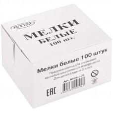 Мел белый Алгем, 100шт., картонная коробка