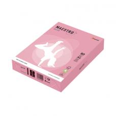 Бумага MAESTRO color А4, 80 г/м, 500 л. пастель розовая